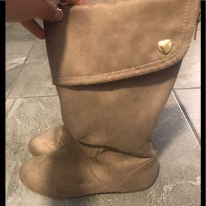 Other - Girls taupe boots